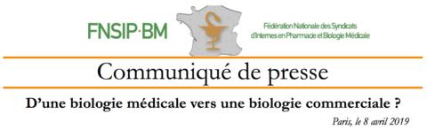 CDP – D'une biologie libérale à une biologie commerciale ?