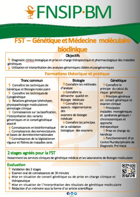 Les Flyers FST de la Biologie Médicale